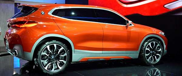 BMW X2 Concept no Salão do Automóvel 2016