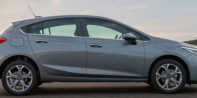Chevrolet Cruze através de parcelas sem juros do consórcio