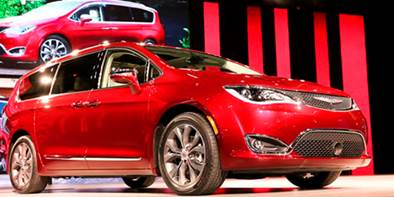 Chrysler Pacifica começa a ser vendida em 2017