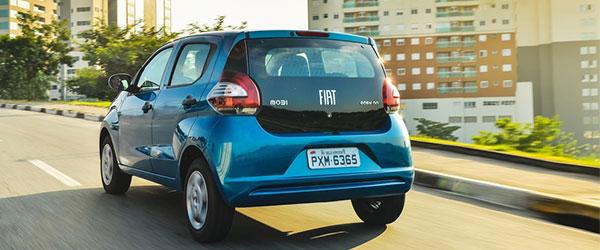 Fiat Mobi é o carro mais barato do Brasil