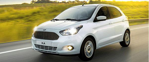 Em 2018: vem aí um Novo Ford Ka