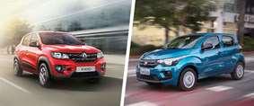 Renault Kwid ou Fiat Mobi: qual comprar?