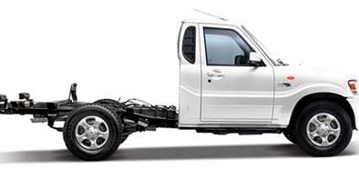 Pik up Mahinda com cabine simples está pronta para o trabalho