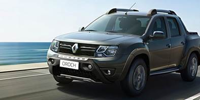 Renault Duster Oroch chega à linha 2017