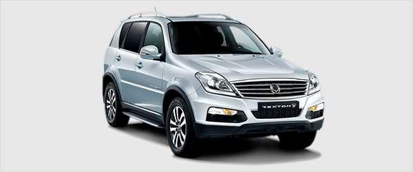 SUV Rexton da SsangYong será reestilizada