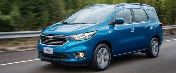 Lançamento: vem aí a Chevrolet Spin 2019