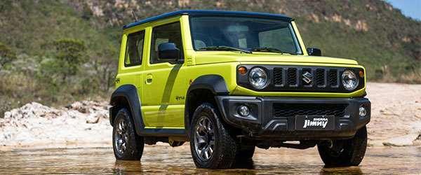 Lançamento: Suzuki Jimny Sierra chega ao Brasil