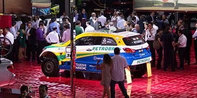 Evoque conversível no Salão do Automóvel 2016
