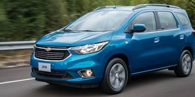 Novo Chevrolet Spin 2019 pelo consórcio