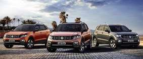 Volkswagen revela alguns detalhes do Novo T-Cross