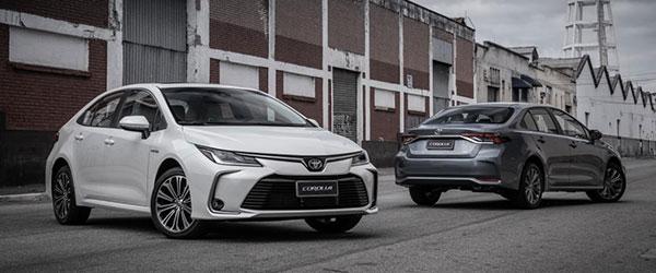 Consórcio Novo Toyota Corolla 2020