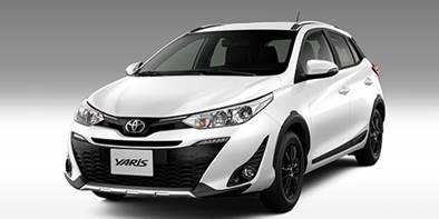 Toyota lança versão aventureira do Yaris