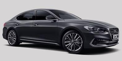 Hyundai Azera com a carta de crédito do consórcio