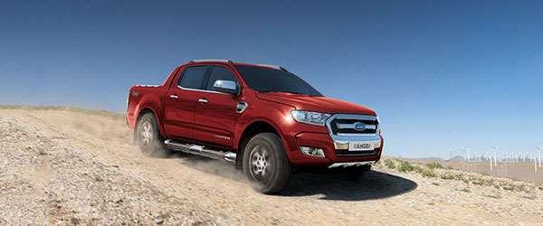 Ford prepara picape para brigar com as concorrentes