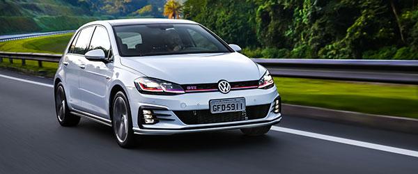 Volkswagen Golf apresenta mais conteúdo de série