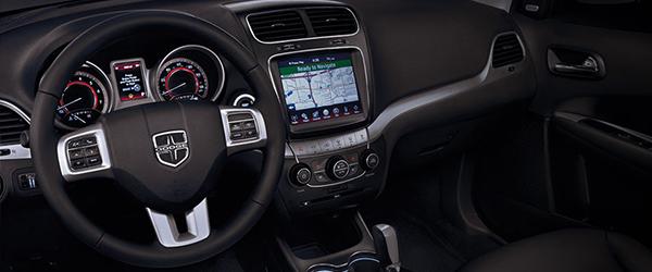 Novo sistema de multimídia no Dodge Journey