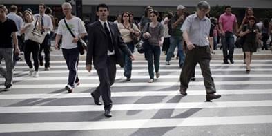 A preferência é dos pedestres!