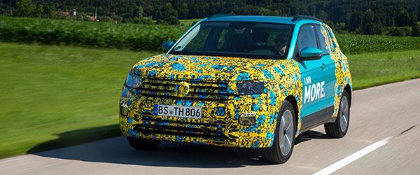 Volkswagen amplia catálogo de SUVs com o T-Cross